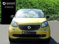 smart forfour PROXY PREMIUM (yellow) 2015-12-31
