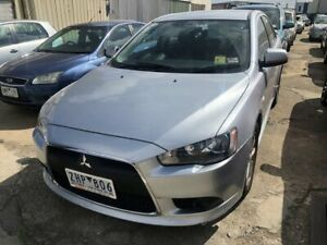 2012 Mitsubishi Lancer CJ MY12 Activ Silver 5 Speed Manual Sedan Hoppers Crossing Wyndham Area Preview