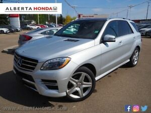 2015 Mercedes-Benz M-Class * CLEAN CARPROOF, SINGLE OWNER, SPORT