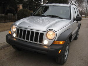 IMPRESSIVE!!!! 07 JEEP LIBERTY 4X4 - EXCELLENT OVERALL CONDITION