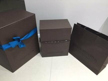 100% Authentic LOUIS VUITTON Bag Storage Box/Shopping Paper Bag Sydney City Inner Sydney Preview