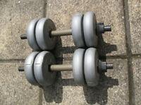 A Pair of Orbatron Dumbells