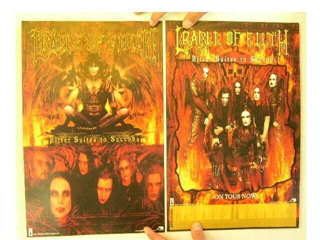 Cradle Of Filth Poster 2 sided Band Shot Bitter Suites To Succubi