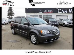 2016 Chrysler Town & Country DVD   BACK-UP CAM   STOW N GO  
