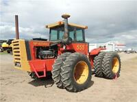 1982 Versatile 555 - 4WD, PTO, recent work completed. Reduced!