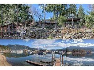 Incredible Waterfront on Mara Lake - 2 kitchens/huge addition