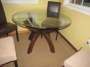 Bombay Table in great shape $150 (chairs included)