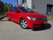 2008 Honda Civic 8th Gen MY08 Sport Red 5 Speed Automatic Sedan Southport Gold Coast City Preview