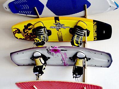 4  Wakeboard, Wakeskate, Wakesurf Board  Wall Rack by Willow Heights Designs for sale  South Jordan