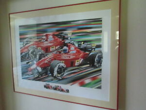 Ferrari F1 limited edition prints