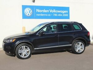 2012 Volkswagen Touareg EXECLINE W/ SPORT AND TOW PKG - 4MOTION
