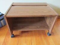 Rolly table, good for storage or office