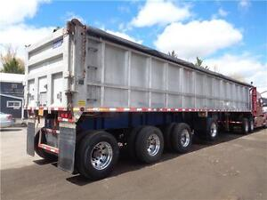 2007 STARGATE 44'FT ALUMINUM 4 AXLE SPIFF END DUMP