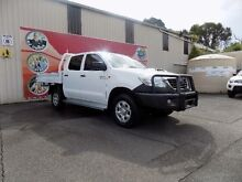 2013 Toyota Hilux KUN26R MY12 SR (4x4) White 4 Speed Automatic Dual Cab Pick-up West Gosford Gosford Area Preview