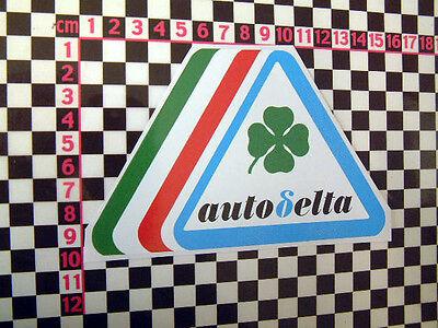 Alfa Romeo Auto Delta Sticker 75 GTV Spider Alfetta Alfasud GTV6