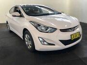 2014 Hyundai Elantra MD Series 2 (MD3) Active White 6 Speed Automatic Sedan Clemton Park Canterbury Area Preview