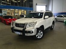 2011 Toyota Landcruiser Prado GRJ150R GXL (4x4) Glacier White 5 Speed Sequential Auto Wagon Beckenham Gosnells Area Preview