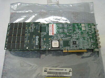 Gaga 1602 Compuscope 1602 16bit Dual Channel Ad And Oscope Card For Pci Ah248