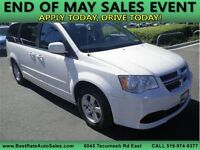 2012 DODGE GRAND CARAVAN SXT ~ APPLY ONLINE 4 FAST APPROVAL! Windsor Region Ontario Preview