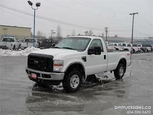 2009 FORD F-250 SUPER DUTY XL REGULAR CAB LONG BOX 4X4