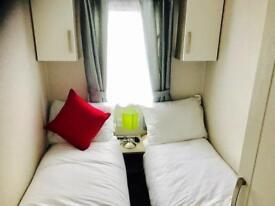 3 bedroom Willerby Caravan on Ayrshires west coast site fees included until 2019