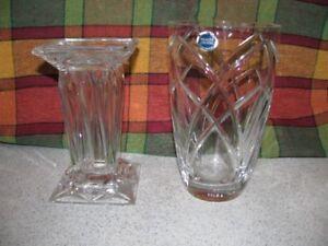 Tupperware, crystal, Pyrex - Crystal vase, Tupperware & more