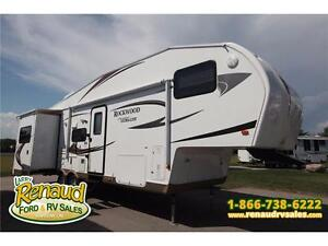 USED 2012 Forest River Rockwood 8288 WS 5th Wheel