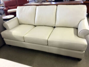 Leather Couch Off-White SALE!