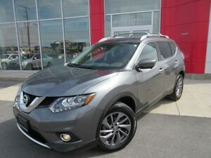 2016 NISSAN ROGUE SL AWD TECH PKG NAVI LEATHER 360 CAMERA PANA R