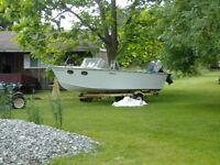 1960 Sportcraft outboard