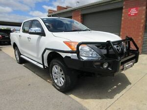 2013 Mazda BT-50 GT (4x4) GT (4x4) White 6 Speed Automatic Dual Cab Utility Holden Hill Tea Tree Gully Area Preview