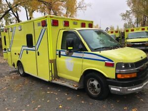 AMBULANCE DIESEL GMC CHEVROLET 2013
