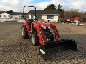 TIRED OF SHOVELLING SNOW? Massey Ferguson 39hp To The Rescue!