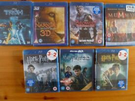 Blu rays-brand new sealed, 4 pounds each or 27.00 pounds for the lot (9 total)
