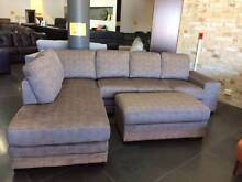 new LUCAS CORDUROY 3 seater chaise ottomanUP TO 30MTH NO INTEREST Bundall Gold Coast City Preview