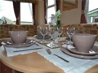 Beautiful Static Caravan For Sale, Sited Morecambe Bay 12mth Pet Friendly Sea Views Holiday park