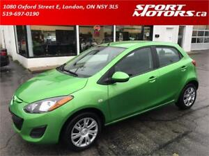 2011 Mazda2 GS! New Brakes! Cruise Control! A/C! Rust Proofed!