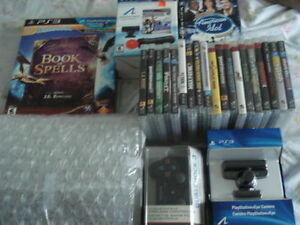 160G PS3 FAT BUNDLE NEW WITH 30 GAMES SOME BRAND NEW!!