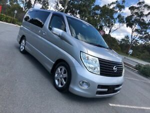 2005 Nissan Elgrand E51 Highway Sta Series 2 Silver 5 Speed Automatic Wagon Arundel Gold Coast City Preview