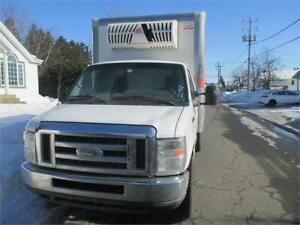FORD E-350 CUBE REFEER SIMPLE ROUE 12 PIEDS 2012 FINANCE MAISON