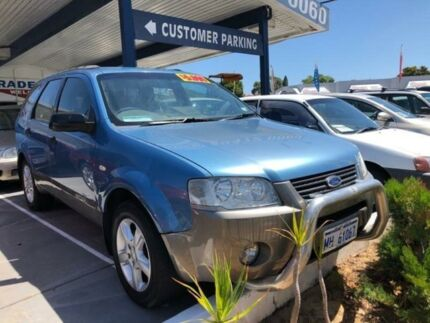 2010 Ford Territory SY Mkii TS (RWD) Blue 4 Speed Auto Seq Sportshift Wagon St James Victoria Park Area Preview