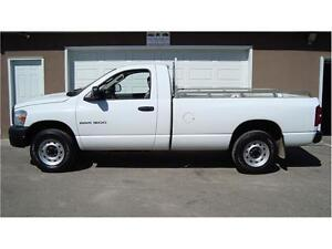 2007 DODGE RAM 1500 REG CAB LONGBOX 4X4 4.7L 212K ONLY $7,980.