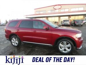 2015 Dodge Durango AWD LIMITED DUAL DVD Accident Free,  Rear DVD