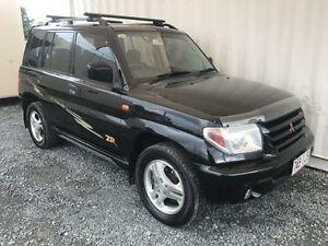2002 Mitsubishi Pajero IO QA ZR Black Manual Wagon Gaven Gold Coast City Preview