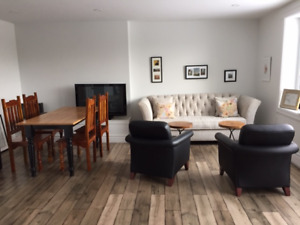 One Bedroom Furnished Suite Available for Lease