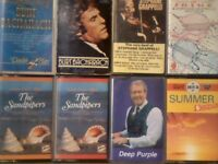 BACHARACH, STEPHANE GRAPPELLI, THE SANDPIPERS, PAUL DAVIS, DUNCAN LAMONT PRERECORDED CASSETTE TAPES.