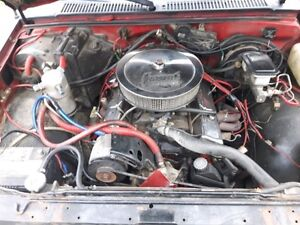1985 S10 Blazer * Small block conversion *