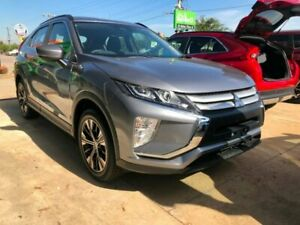 2018 Mitsubishi Eclipse Cross YA MY18 ES 2WD Grey 8 Speed Constant Variable Wagon Hoppers Crossing Wyndham Area Preview