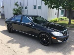 2008 MERCEDES BENZ S550 4MATIC 79KM UPGRADED ALLOYS