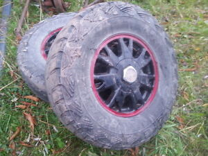 """15"""" 4wd  s10/sonoma wheels with centers"""